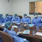 الخدمات الطبية للمقاومة الوطنية تنظم دورة تدريبية لمتطوعي الأمن المركزي بالحديدة عن الوقاية من كورونا