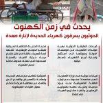 شاهد | يحدث في زمن الكهنوت  ..الحوثيون يسرقون كهرباء الحديدة لإنارة صعدة | انفوجرافيك