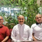 """شاهد  ظهور جديد لثلاثي الرئيس """"صالح"""" في أول لقاء منذ بدء الحرب يشعل المواقع   صور"""